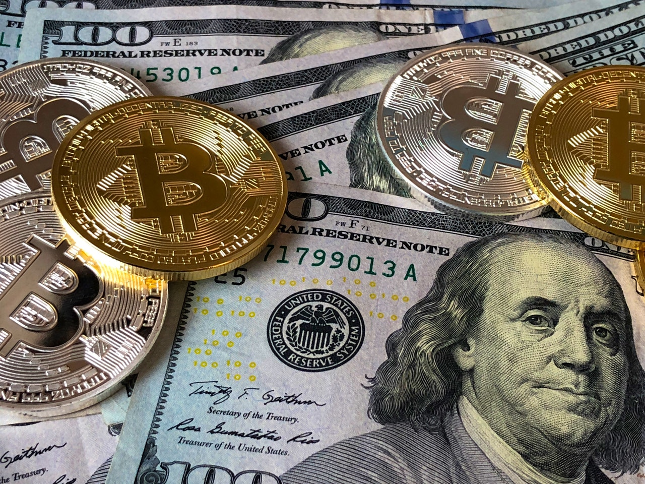 Bitcoin en US Dollar